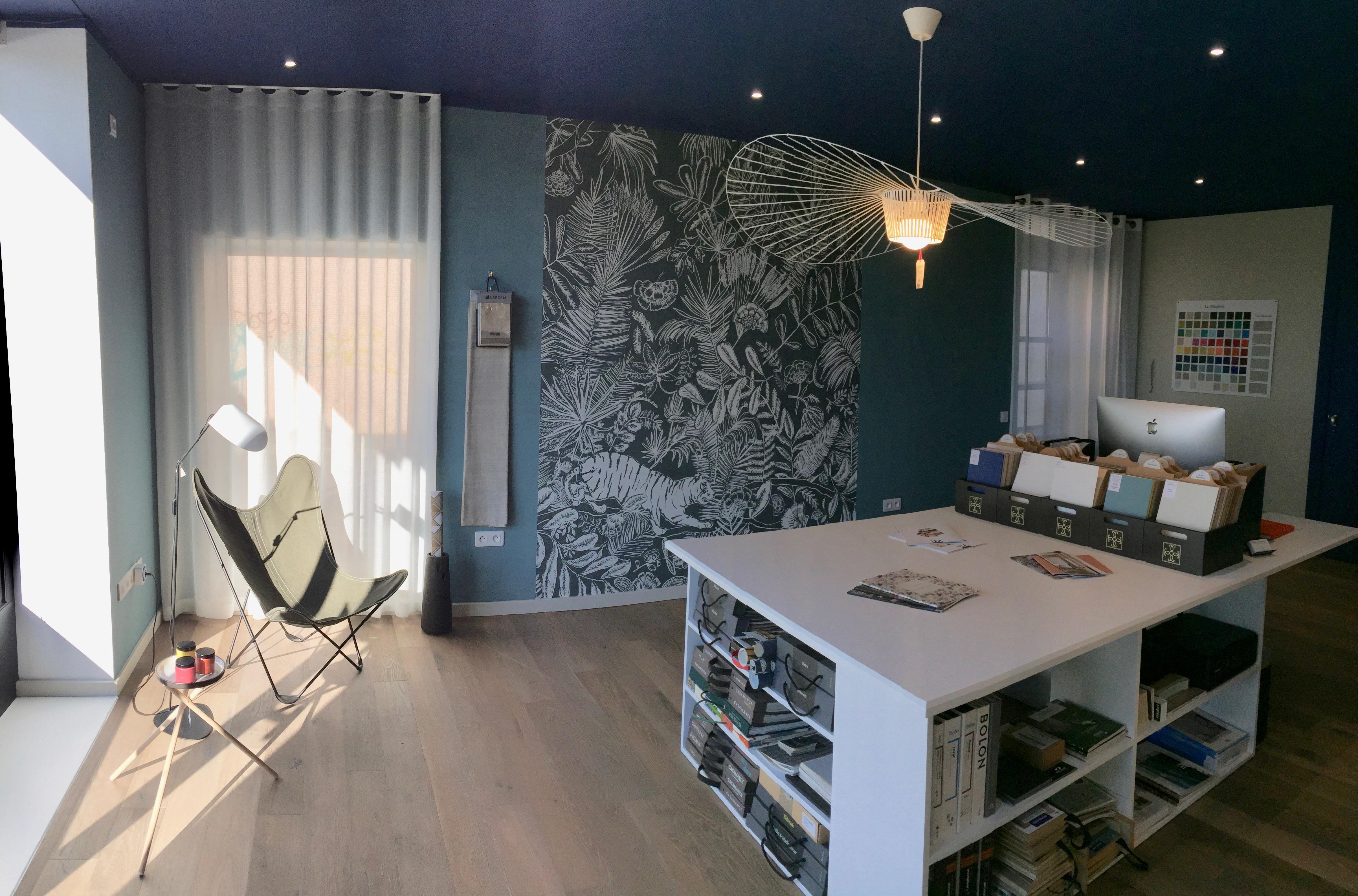 présentation showroom design d'Espaces Alès